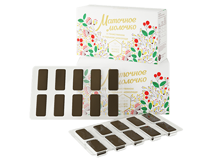 Royal jelly chocolate